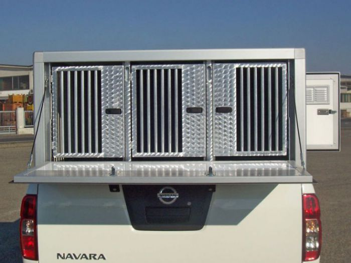 Box per pick up: MINIBOX PER NISSAN NAVARA