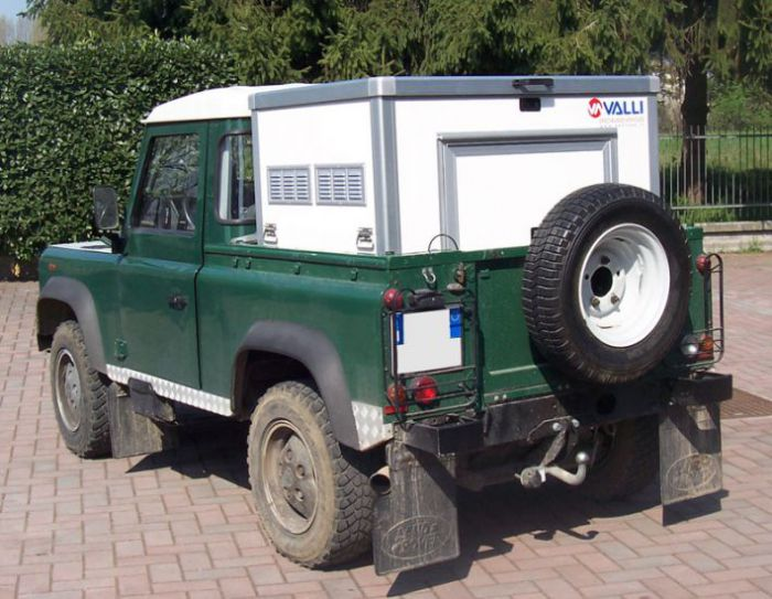 Box per pick up: MINIBOX PER LAND ROVER DEFENDER