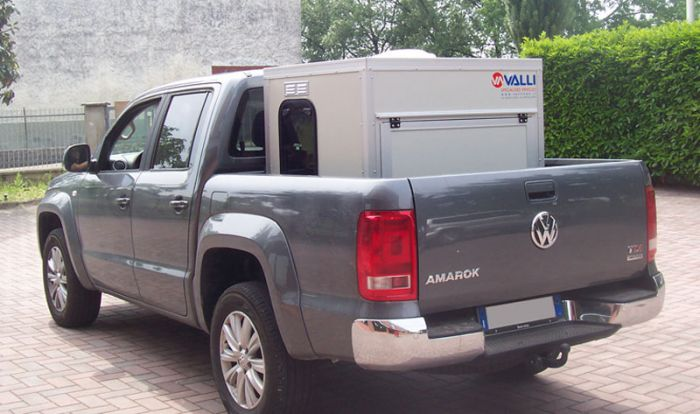 Box per pick up: MINIBOX PER VW AMAROK -
