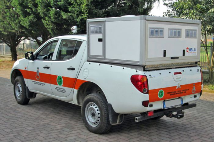 Box per pick up: MINIBOX PER MITSUBISHI L200