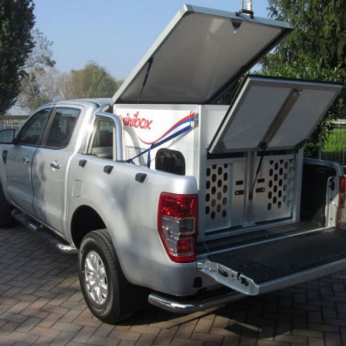 Box per pick up: CELLULA PER TRASPORTO CANI SU PICK-UP FORD RANGER
