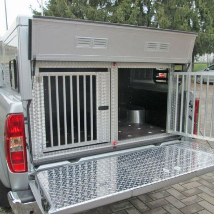 Box per pick up: CELLULA PER TRASPORTO CANI SU PICK-UP NISSAN NAVARA